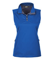 Ladies' Techno Lite Three-Layer Knit Quarter-Zip Vest