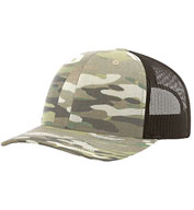 Richardson 862 Multicam Trucker Cap