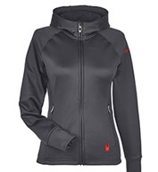 Spyder Ladies' Hayer Full-Zip Z Hooded Fleece Jacket