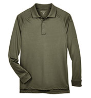 Men's Tactical Long-Sleeve Performance Polo