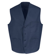 Red Kap Men's Three Pocket Vest