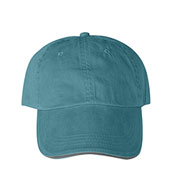 Anvil Solid Pigment-Dyed Twill Sandwich Cap